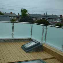 Glass balustrade fittings prices outdoor balcony railing