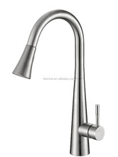 Feenice supplier direct sale stainless steel pull out kitchen faucet