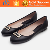 lady's office woman's big size lady flat shoes fashional brand shoes