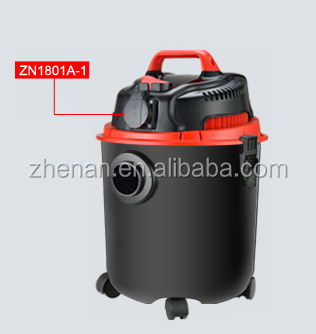 1400W new style wet & dry vacuum cleaner plastic body with drainage outlet optional silencer
