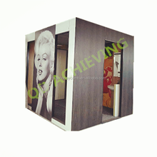 strong and light weight prefabricated bathroom for hospital and elderly care center