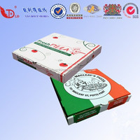Europe countries pizza box with custom design,OME accepted