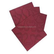 Luxurious16x16 inches 25 count Air Laid Disposable Printing Napkins