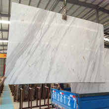 Newstar high polished Volakas white marble tiles and slabs,white marble 24x24 tiles