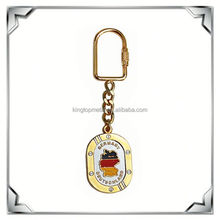 Gold Germany map shaped keychains souvenirs