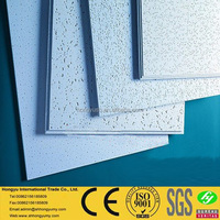 Sound absorbing mineral fiber board ceiling tiles in India