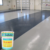 Environment-friendly solvent-free epoxy floor self-leveling paint