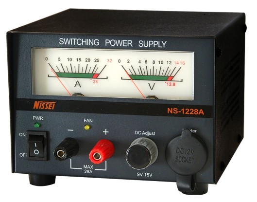 NS-1228A 13.8V adjustable 28Amp switching mode power supply