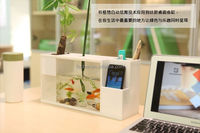 Home Furnishing creative ornaments cabinets hydroponic flowerpot tea table aquarium fish tank