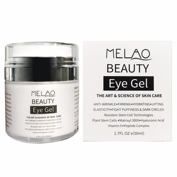 Eye Gel for Dark Circles, Puffiness, Wrinkles and Bags - The Most Effective Anti-Aging Eye Gel for Under and Around Eyes. - 1.7
