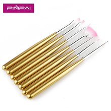 Newest 7pcs Acrylic brush nail art set.