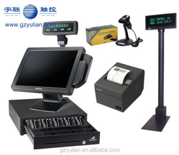 POS Terminal/ System/ EPOS host board cpu 1037U All in one with card register