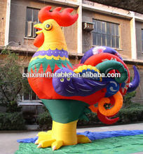 Customized Giant Inflatable Cock/Inflatable Chicken/Inflatable Rooster For Advertising
