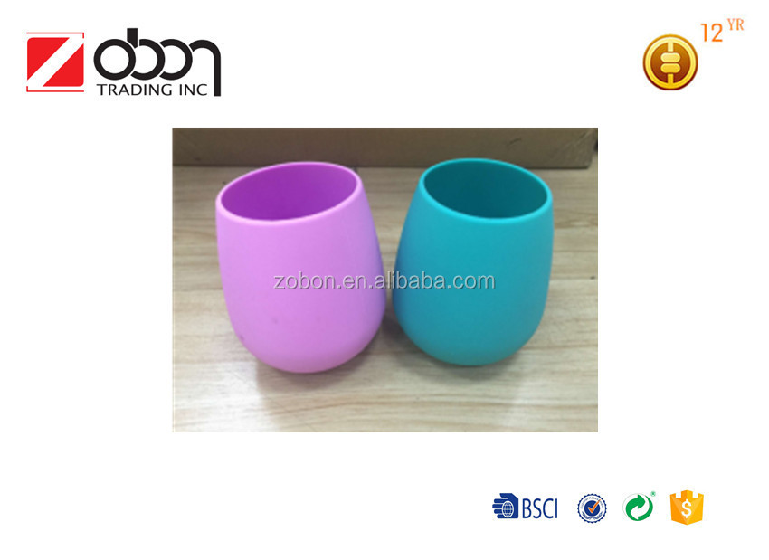 silicone coffee cup/silicone cup holder/silicone rubber drinking cup