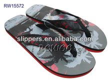 2015 new design casual flip flop