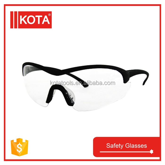 Eye Protection Safety Goggles Clear Safety Glass With Rubber Nose Pad