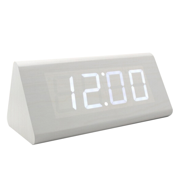 LED Digital Desktop Alarm Word Decoration Clock