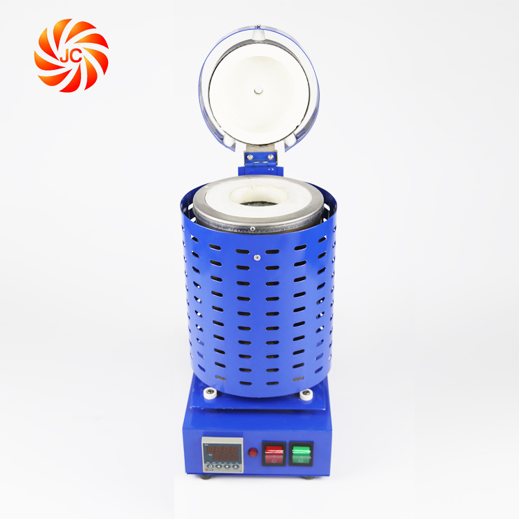 JC Small High Temperature Mini Electric Furnace for Metal Melting