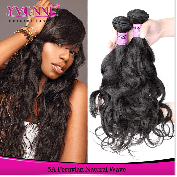 Top quality wholesale peruvian natural hair weave for black woman