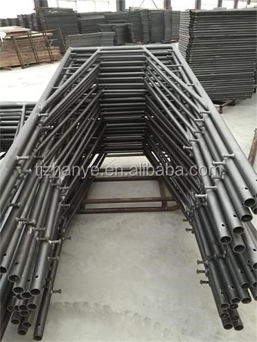 Q235/Q345 3' X 6'8'' Snap On types of Frame Scaffolding System