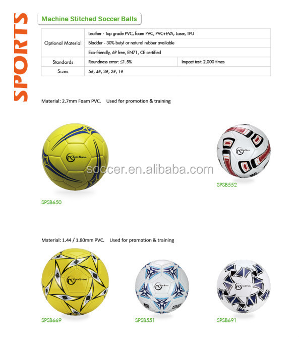 Zhensheng Cheap Soccer Ball Supply