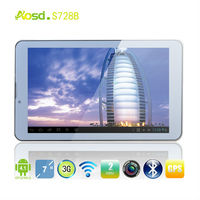 Cheap built in 3G gps tablet 7 inch MTK6577 Android 4.1 512M 4G dual core wcdma phone easy touch language ultra slim tablet pc