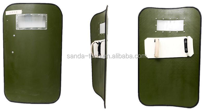 Handheld or Wheeled Bullet proof shield
