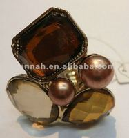 Charming 2012 gemstone ring