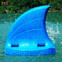EVA foam kids swimming back shark float