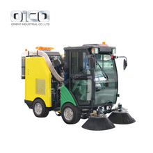Gas Powered Brush Sweeper For Outdoor Use