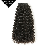 Unprocessed Hair Extensions Natural Double Drawn Brazilian Virgin Human Hair