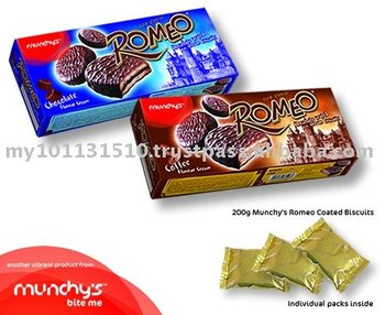 Munchy's Romeo Coated Biscuits 200g