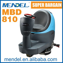Mendel MBD810Ride On Best Pavement Electric High Pressure Floor Sweeper Machine