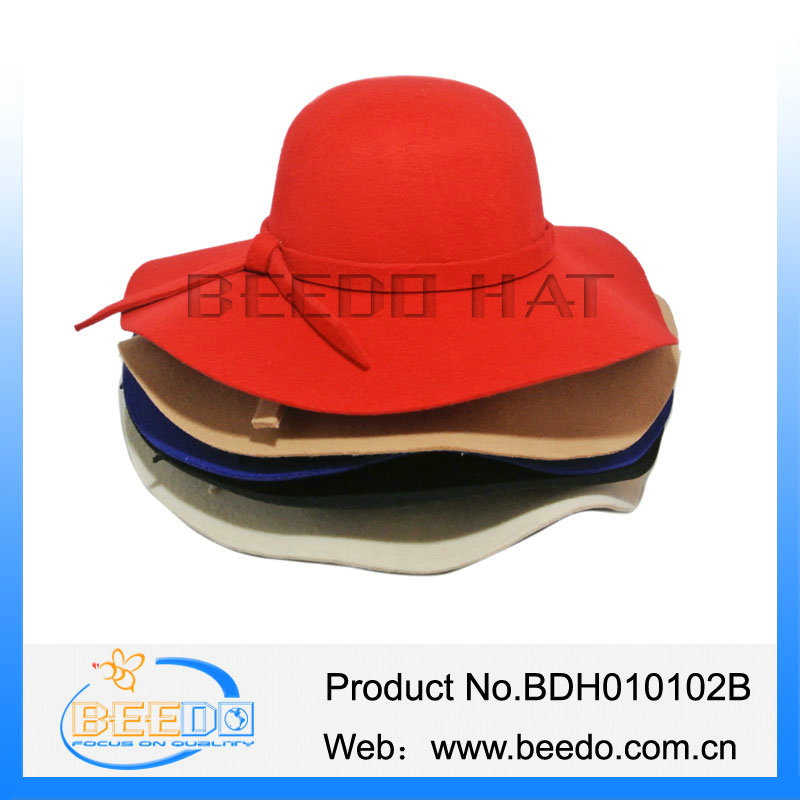 Best quality womens floppy bowlers ladies derby hats cheap