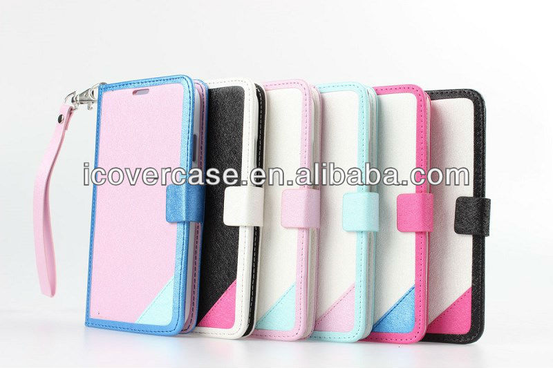 Colorful wallet PU case for Samsung Galaxy S3 i9300,new style!