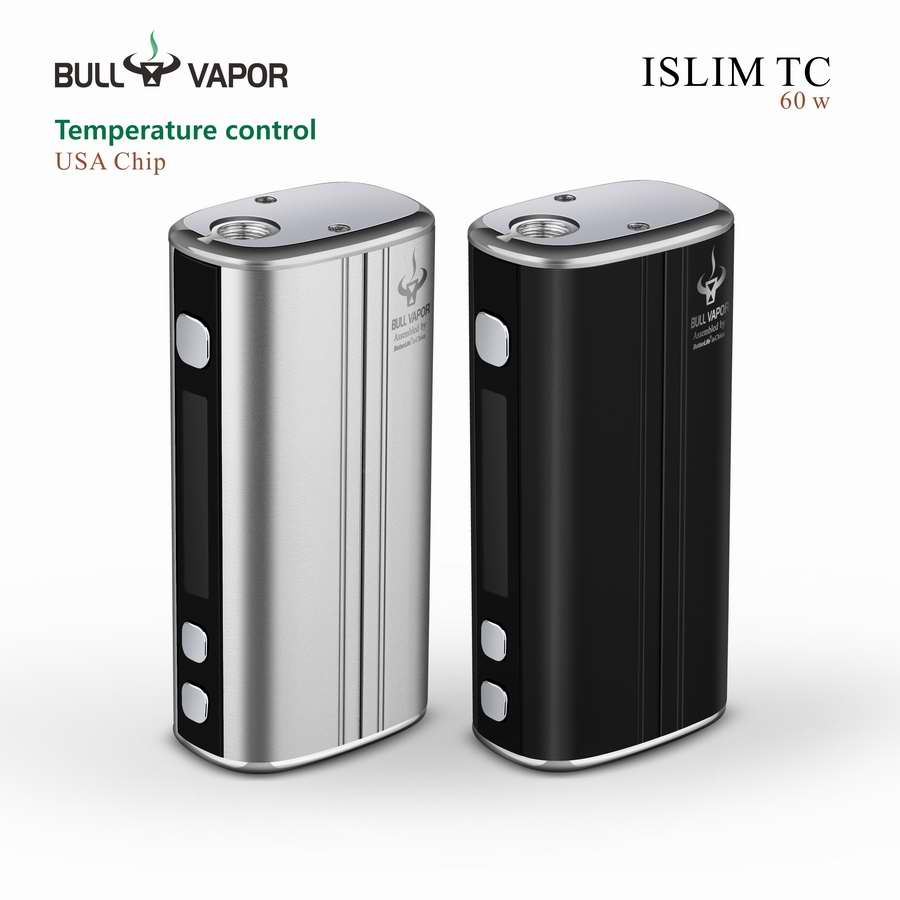 2016 New Electronic Cigarette Islim TC 60w vapor manufacturer china