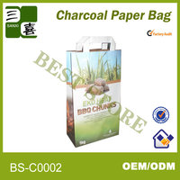 packing paper gift bag is recycle brown grocery paper bag packaging