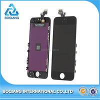 Chinese factory mobile phone lcd for iphone 5 clone , top quality lcd for iphone 5 clone