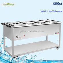 Hot Pot Restaurant Equipment Electric Food Warmer Truck Steel Soup Bain Marie