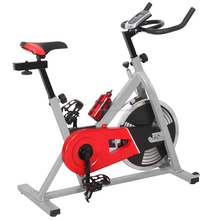 Indoor Cycling Spin Bike Home Use Exercise Aerobic Training Spinning Bike SB465 with Solid Steel and 13KG Duty Flywheel