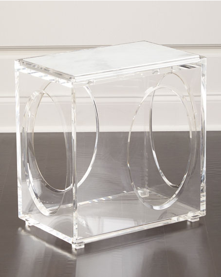 Clear modern acrylic coffee table acrylic end table