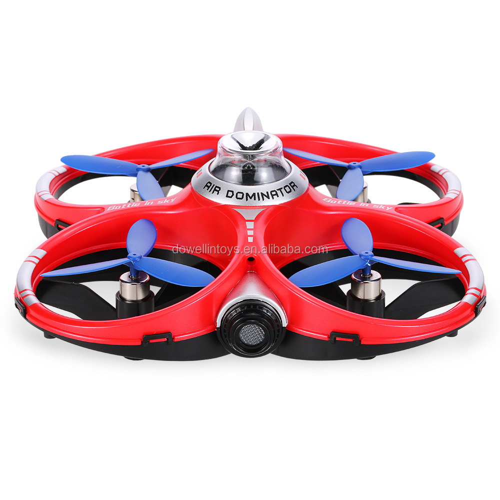 DWI Dowellin CX-60 Double Fighting Drones 3D Flips Drone With Infrared Camera