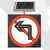 Road safety solar led traffic sign/aluminum flashing stop sign