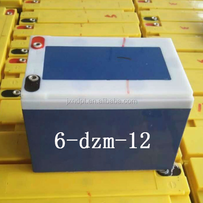 sealed lead acid silicone gel batteries 6 dzm 12 akumulator battery for e scooter