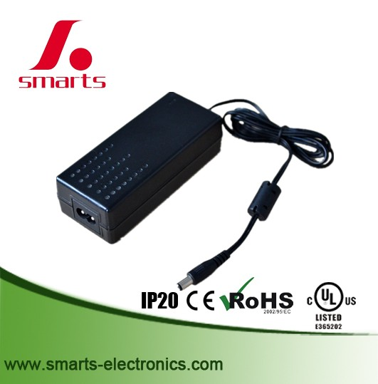 UL listed desktop type 100-240vac 12v dc 4a power adapter