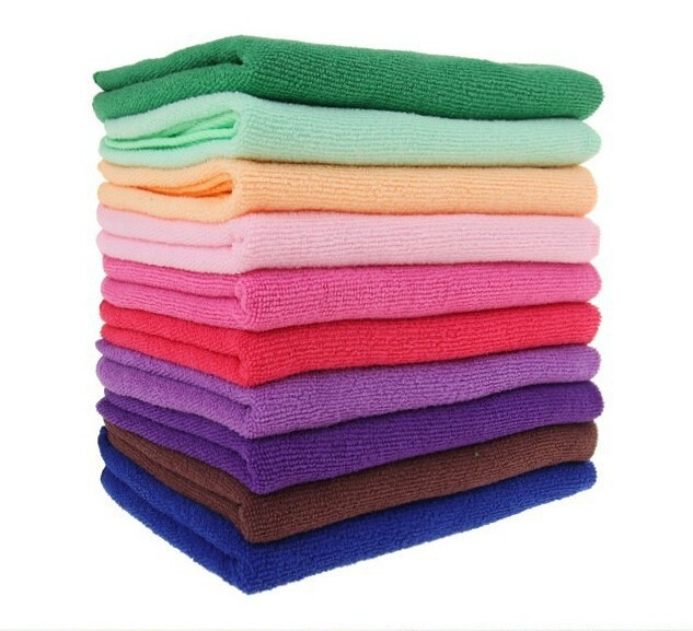 China supplier plush microfiber towel polishing