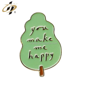 Promotional gift alloy stamp soft enamel metal pin custom