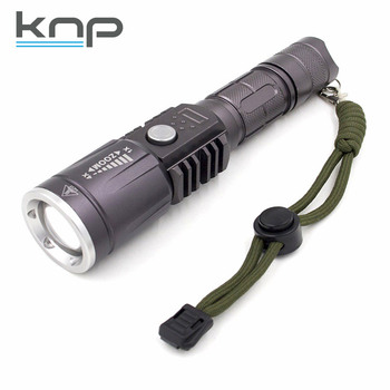 950 Lumen USB Rechargeable AAA Battery 2in1 Aluminum Torch multifunction LED tactical lolice light flashlight