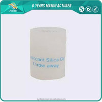DMF free safe canister silica gel desiccant packets for soybean milk machine