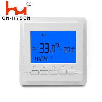 7 Day Programamable Digital Room Thermostat Adjustable 110V/220V/24V